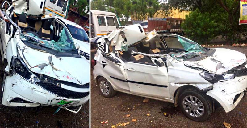 Tata Tiago has a MASSIVE crash but airbags don't deploy: We explain why!