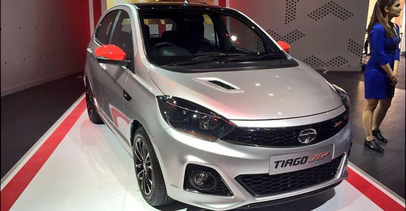 Tata Tiago JTP hot hatchback spied testing for the first time in India