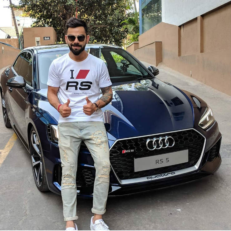 Virat Kohli Becomes The First Owner Of Audi Rs5 In India