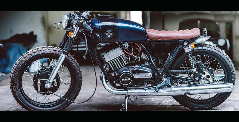 Yamaha RD350 Supermoto baroq
