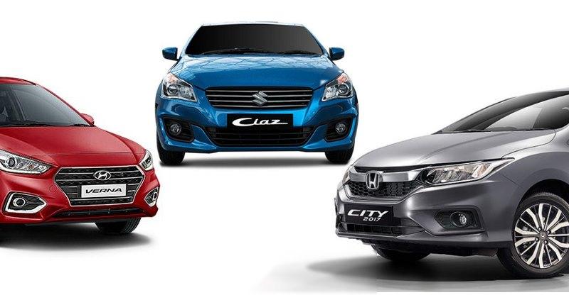 Maruti Suzuki Ciaz Vs Honda City Vs Hyundai Verna: Which car for whom?