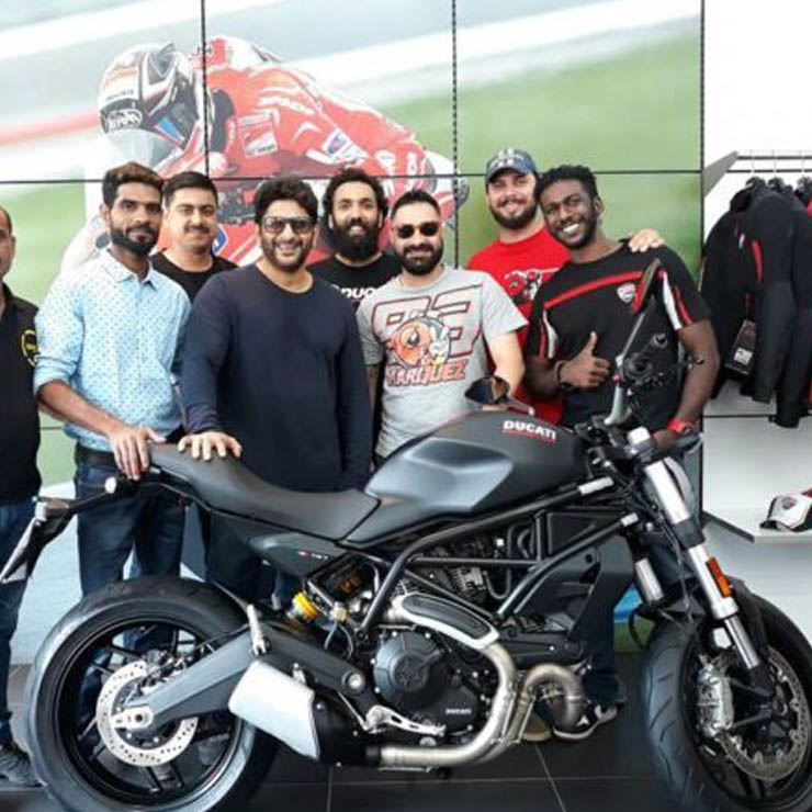 ducati monster 797 arshad warsi images