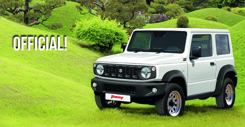 Suzuki Jimny is Maruti Gypsy replacement: Official pictures & details out