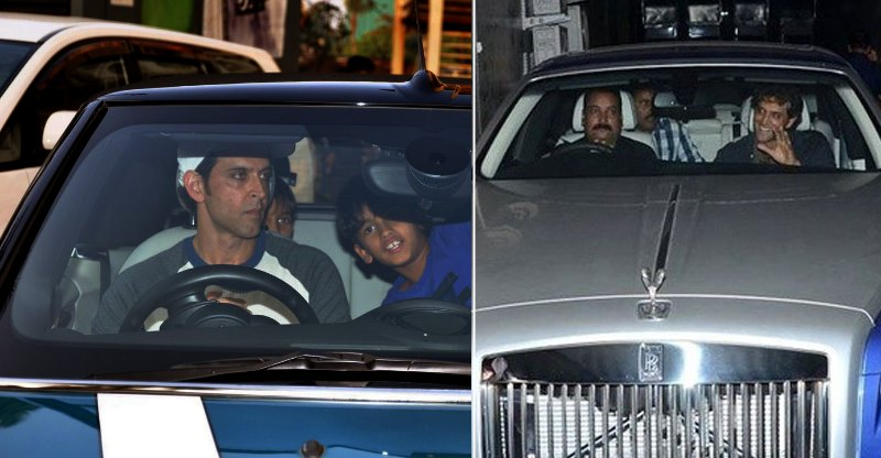 Hrithik Roshan's cars: 8 EXPENSIVE cars including Rolls Royce & Maybach