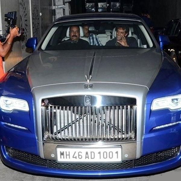 Aktor Bollywood pemilik Rolls-Royce (Cartoq)