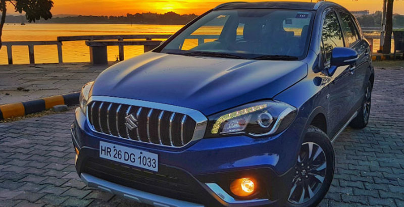 maruti s-cross sales