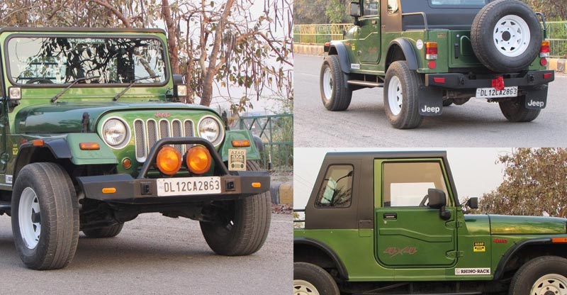 modified mahindra thar images featured