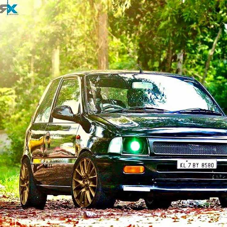 10 Beautifully Resto Modded Maruti Zens From Around India