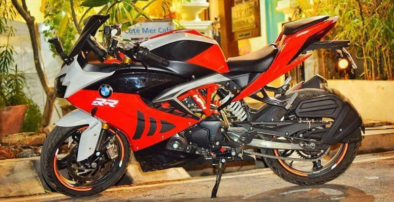 modified tvs apache rr310 bmw paint images