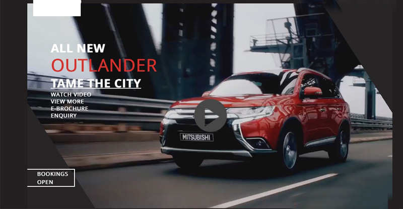 New Mitsubishi Outlander bookings open in India
