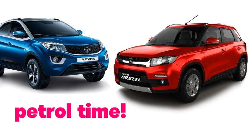 Upcoming petrol SUVs for India: From Vitara Brezza to Hyundai Creta