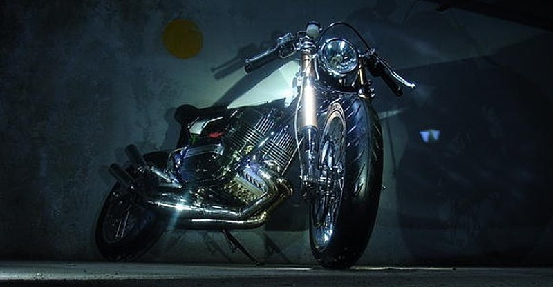 Five beautiful modifications of the Yamaha RD350 motorcycle by enthusiasts!