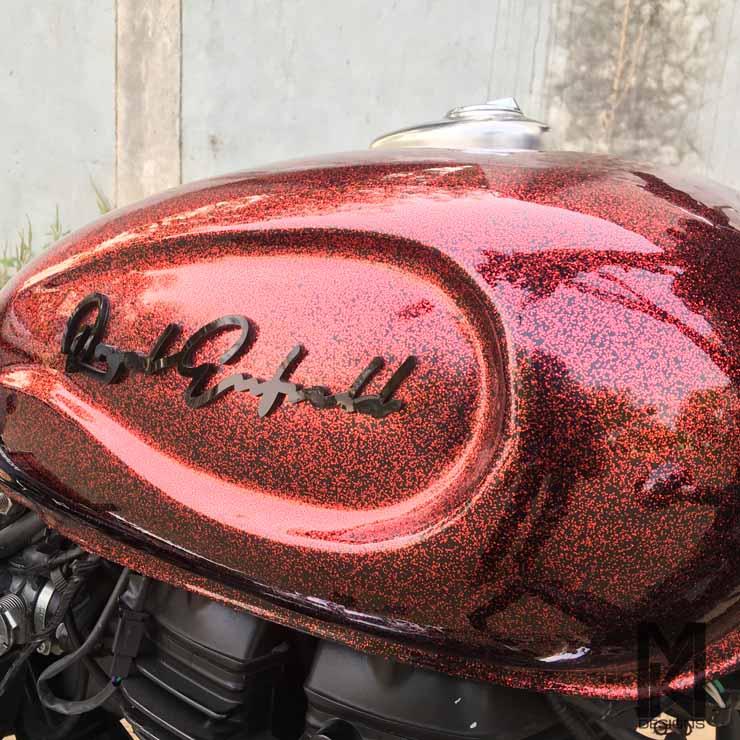 royal enfield classic 500 bobber mk design images
