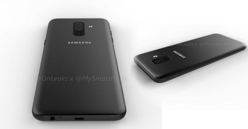 Samsung Galaxy A6 and A6+ smartphones: Unofficial Renders Leaked!