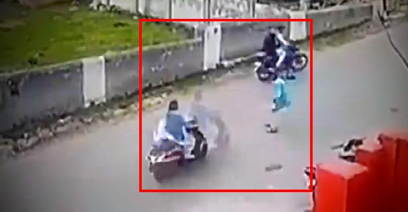 Brave Jammu schoolgirl on scooter crashes into boy who tries to stop and harass her [Video]