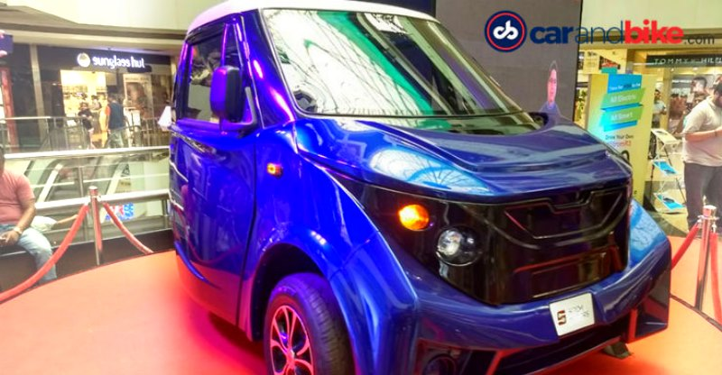 Strom R3 affordable electric car revealed in Mumbai!