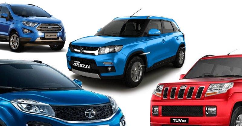 Maruti Brezza Vs Ford EcoSport Vs Tata Nexon Vs Mahindra TUV 300: Who should buy what?