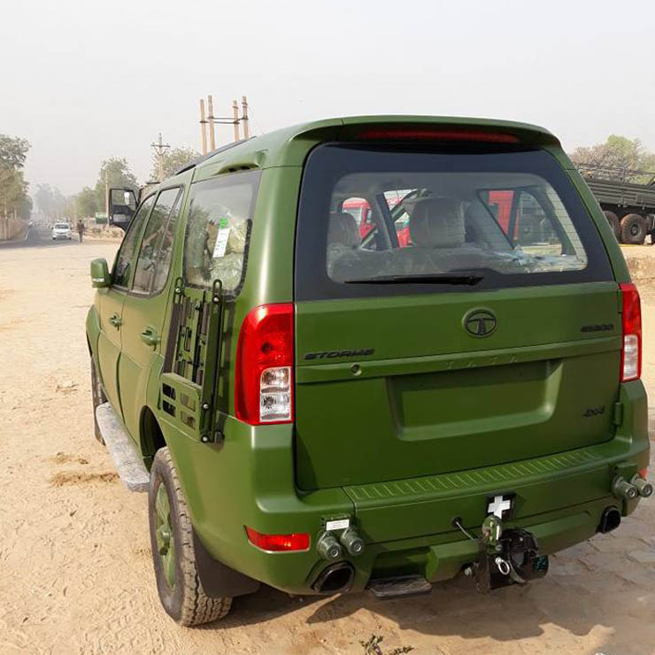 tata safari indian army images
