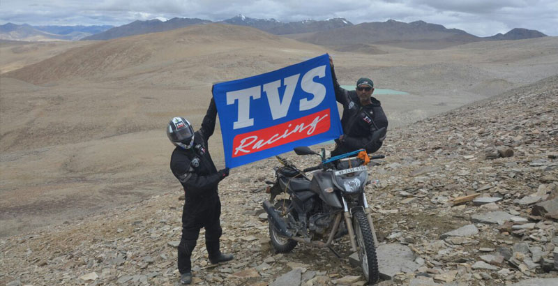 TVS Apache RTR 200 rides into the Limca Book of records
