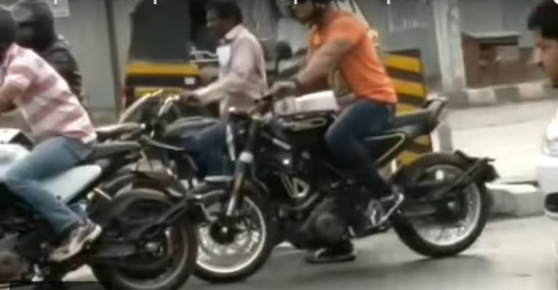 KTM 390 Duke based upcoming Husqvarna Vitpilen and Svartpilen caught testing in India [Video]