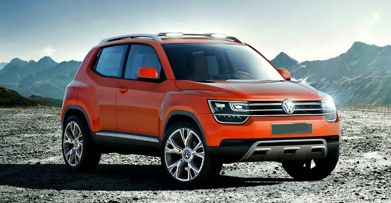 Volkswagen Polo Based Compact Suv To Rival Vitara Brezza And Nexon Details