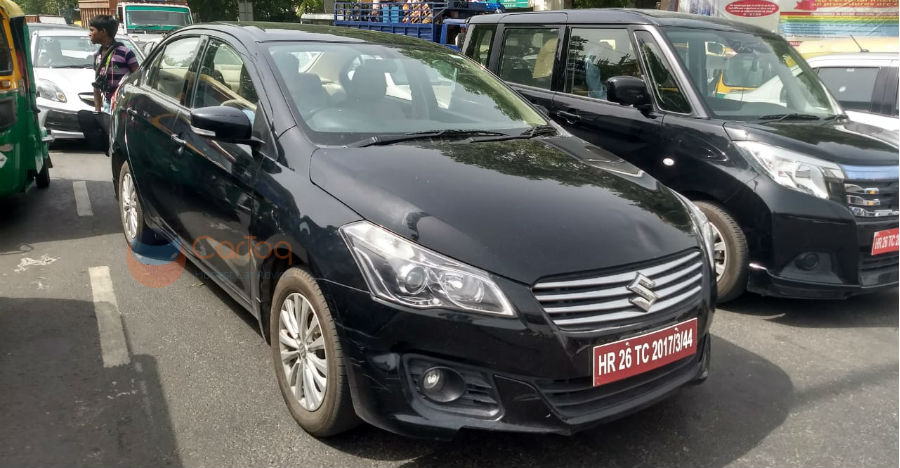 Maruti testing the new 1.5-litre petrol engine in Ciaz