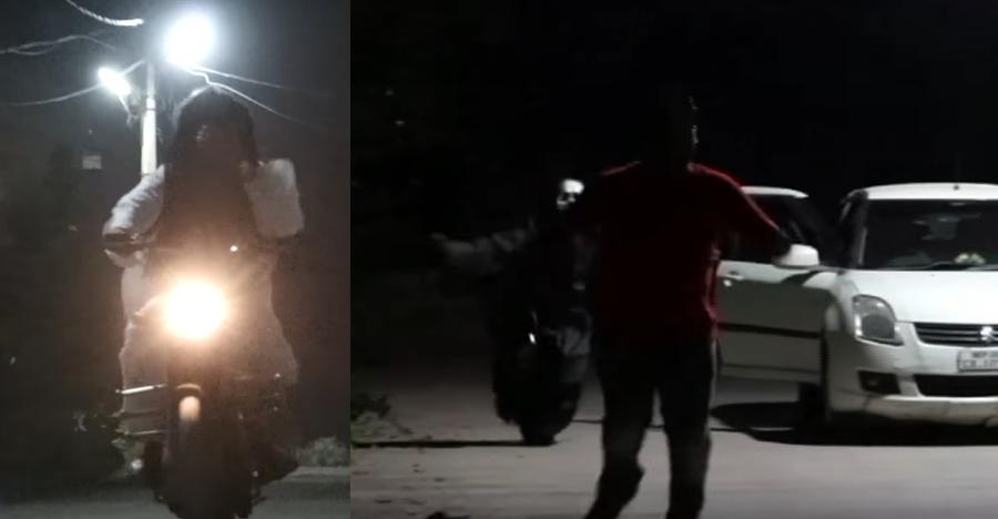 Ghosts in Maruti Suzuki Dzire, on Royal Enfields – Funny or dangerous? [Video]