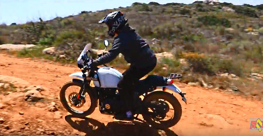Royal Enfield Himalayan goes off roading in the USA like a BOSS [Video]