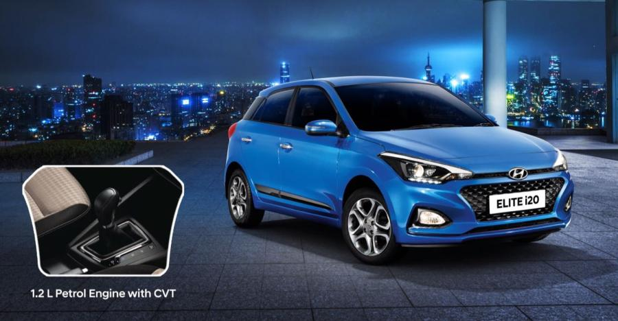 Hyundai Elite i20 officially launched with CVT automatic gearbox