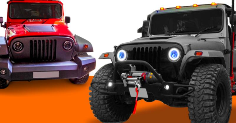 9 OFFICIAL Mahindra-modified Thars you can buy!