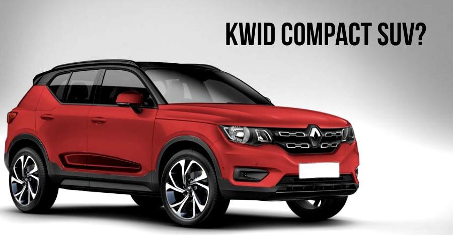 Renault Kwid based compact SUV: What it'll look like