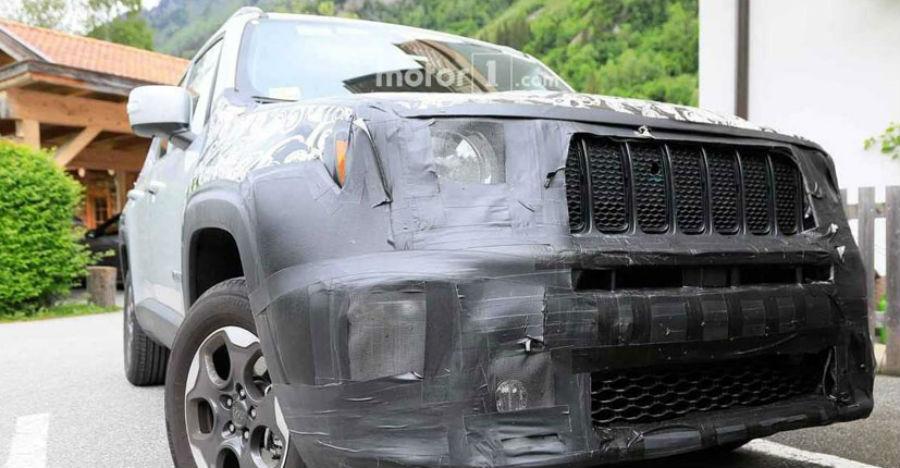Upcoming Jeep Renegade (Maruti Brezza, Hyundai Creta-rival) spied before launch in India