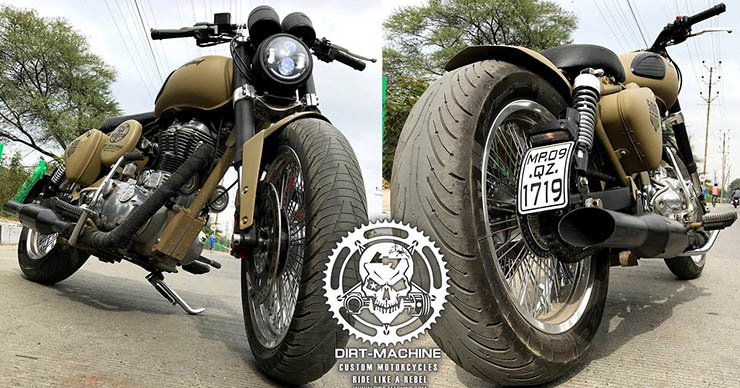 Royal Enfield Classic 500 Combat front