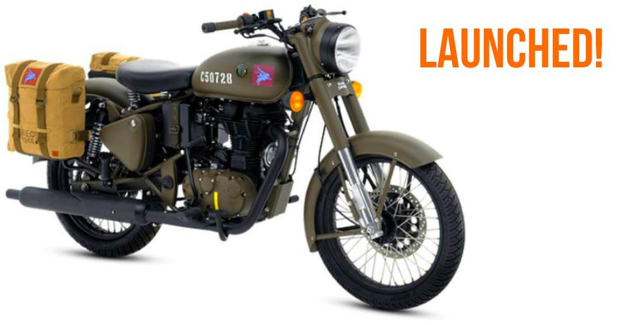 Royal Enfield Classic 500-based Pegasus limited edition motorcycle launched in India