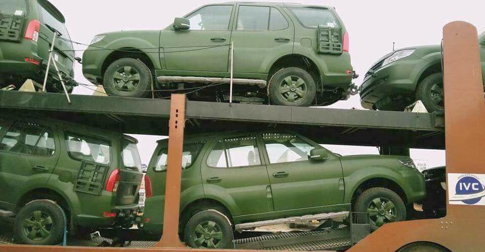 Tata Safari Storme Army edition delivery starts