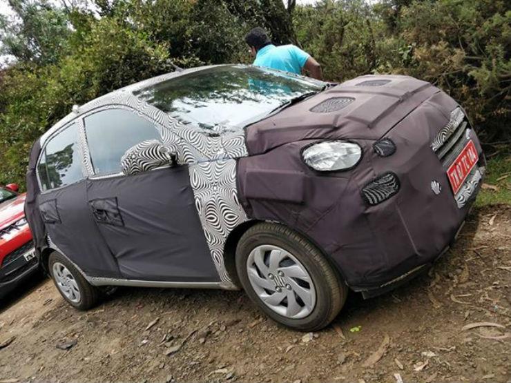 Hyundai Santro spied ahead of launch
