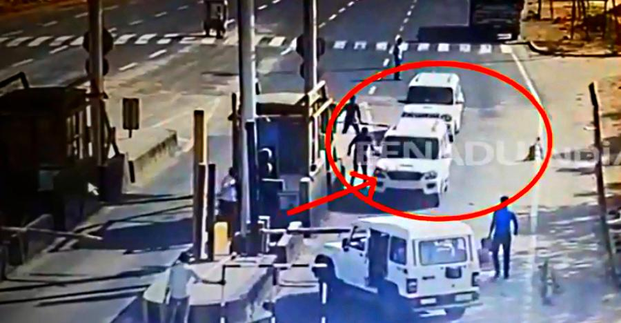 Smugglers in Mahindra Scorpio get trapped by cops in Bolero; Stage spectacular escape [Video]