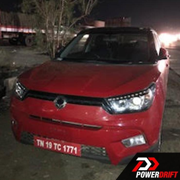 Ssangyong Tivoli 1 6 Se Suv Diesel Hatchback: Ssangyong Tivoli (Mahindra S201) Compact SUV Spied In