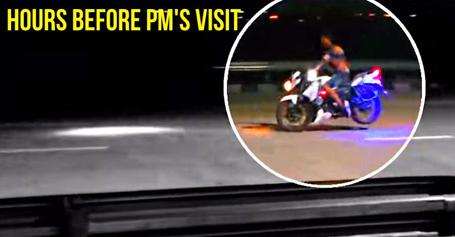 MASSIVE security lapse – Bikers seen stunting on Eastern Peripheral Expressway hours before Prime Minister Modi inaugurated it [Video]