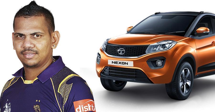 Sunil Narine of Kolkata Knight Riders awarded Tata Nexon for being IPL 2018's 'Super Striker'