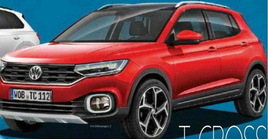 Hyundai Creta-rival Volkswagen T-Cross image leaked