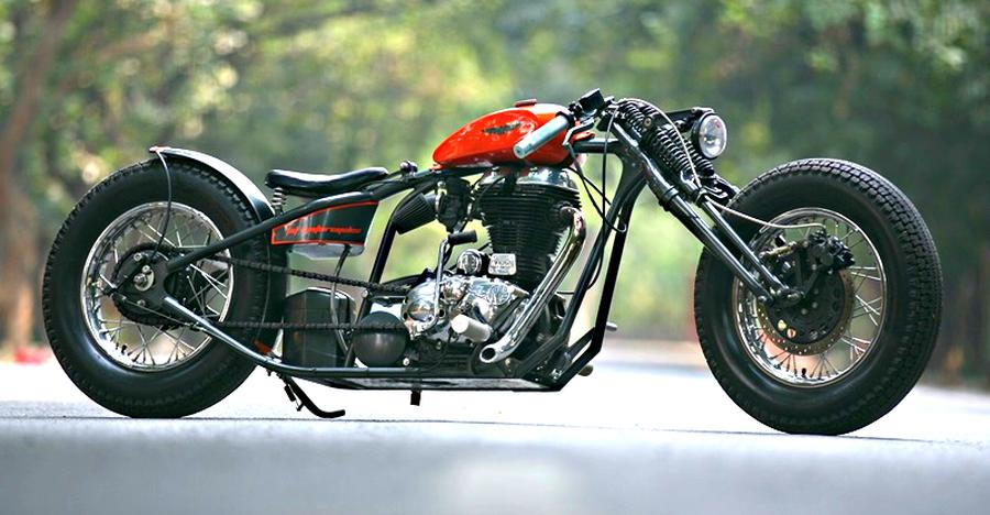 10 Royal Enfield motorcycles modified into gorgeous choppers