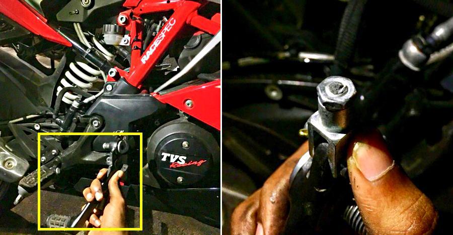 TVS Apache RR 310 owner: Brake pedal just fell off