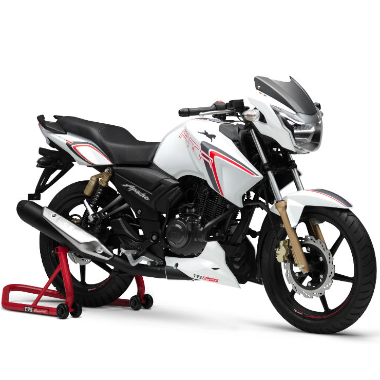 Motorcycles With Abs: India's 5 CHEAPEST Motorcycles With Dual Channel ABS: TVS