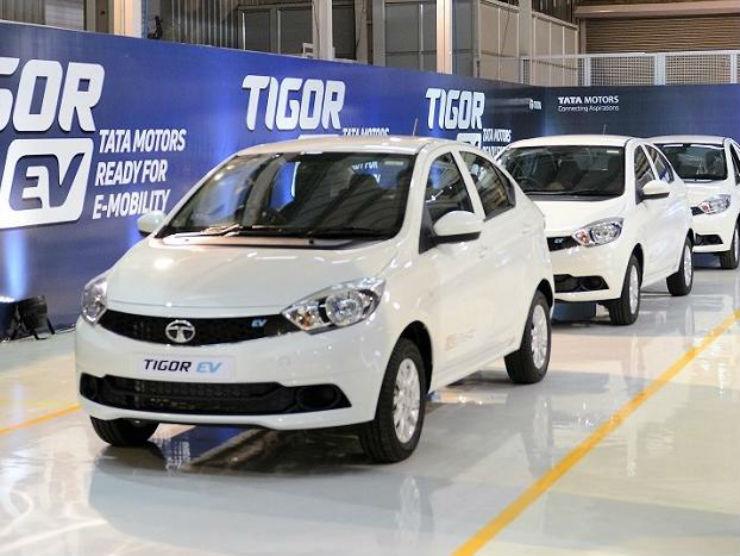 Tata Motors To Supply 1 000 Tigor Electric Vehicles To Maharashtra