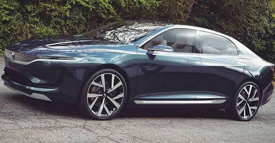 Tata Motors EVision electric sedan: New pictures emerge