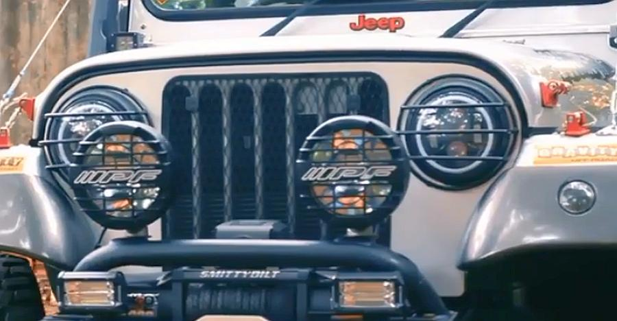 This modified Mahindra Thar is a HEAD-TURNER [Video]