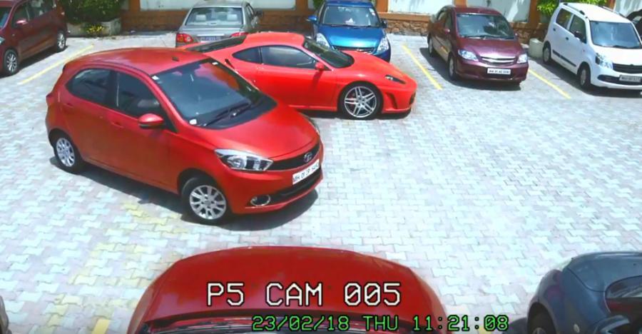 Car thief abandons Ferrari, steals Tata Tiago instead [VIDEO]