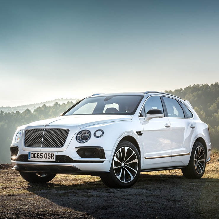 Bentley bentayga images
