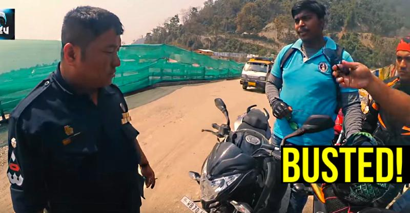Indian bikers BUSTED by Bhutan police: Here's why [Video]